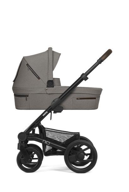 Nio journey kinderwagen taupe grey black/brown frame