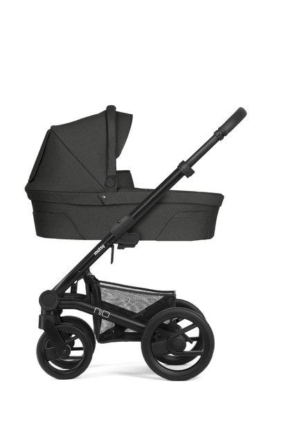 Nio explore kinderwagen shade black/grey frame
