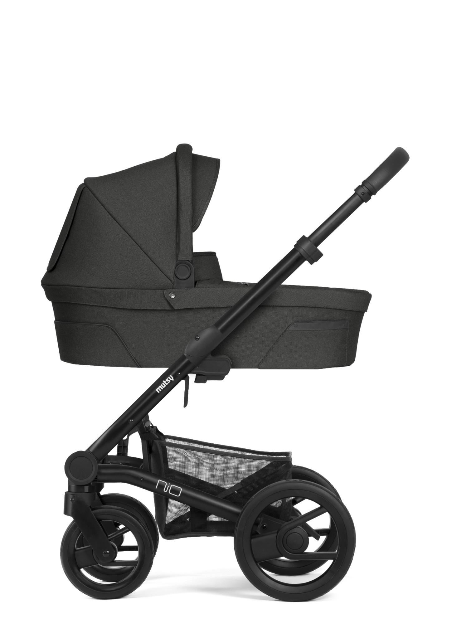 Nio explore kinderwagen shade black/grey frame-1