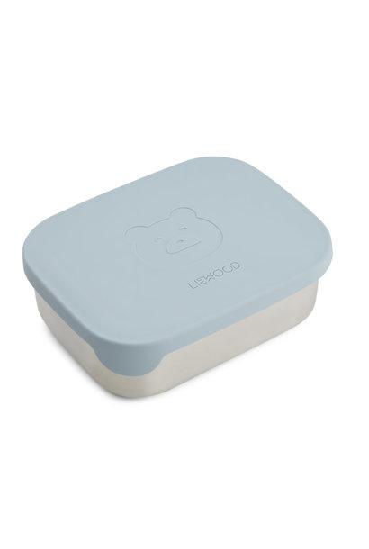 Arthur lunchbox bear sea blue
