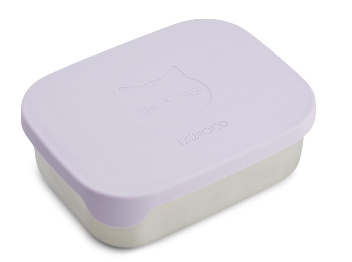 Arthur lunchbox cat light lavender-1