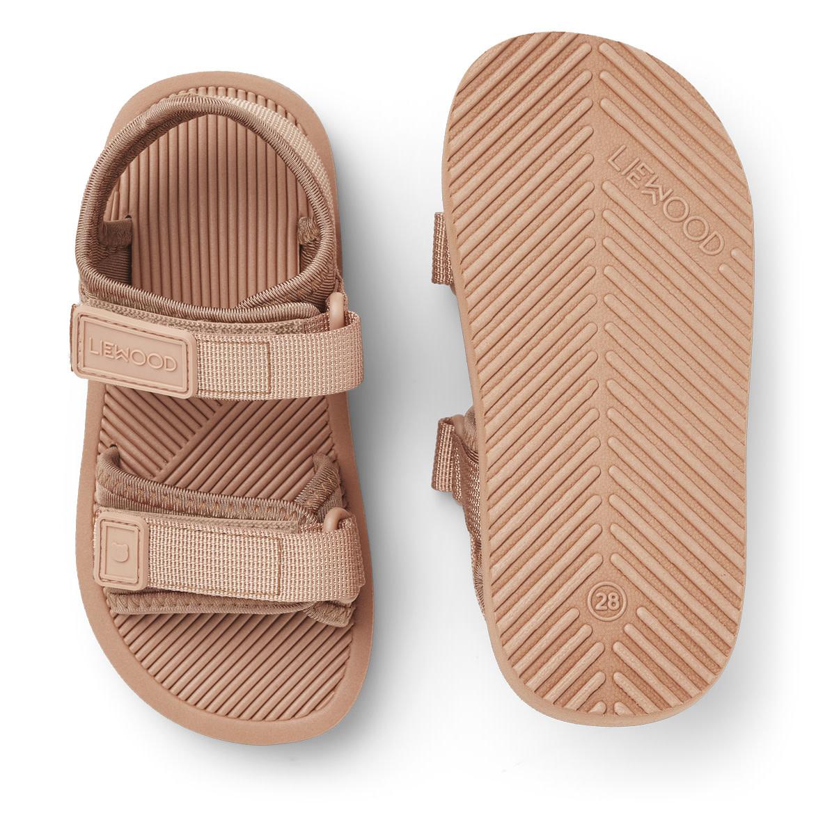 Monty sandals dark rose-1