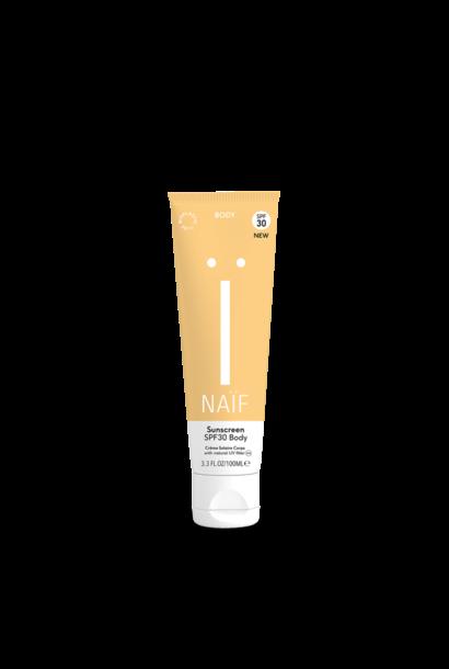 Naïf grown ups sunscreen body SPF30