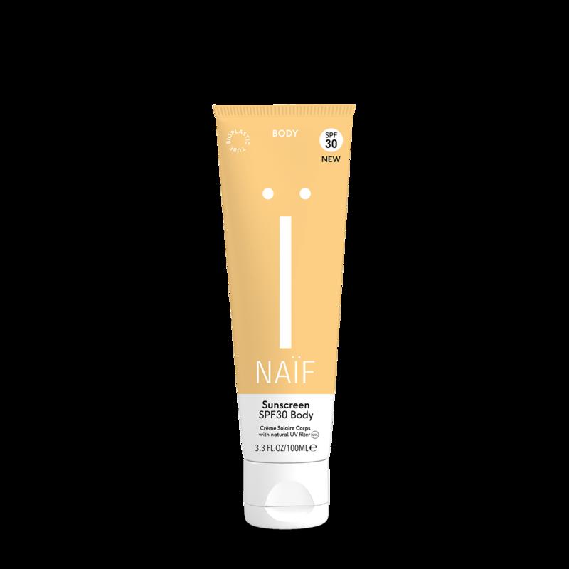Naïf grown ups sunscreen body SPF30-1