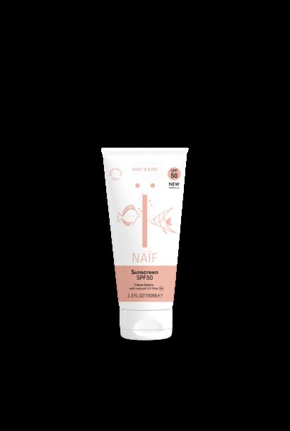 Naïf sunscreen factor 50
