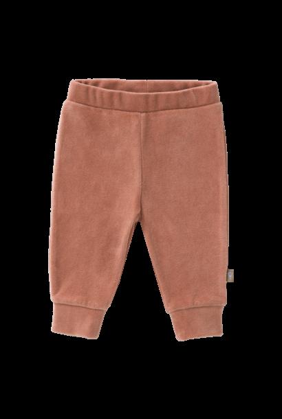 Trousers velours ash rose