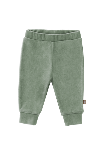 Trousers velours forest green