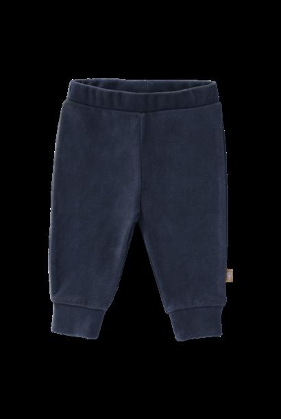 Trousers velours indigo