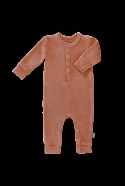 Pyjama velours ash rose