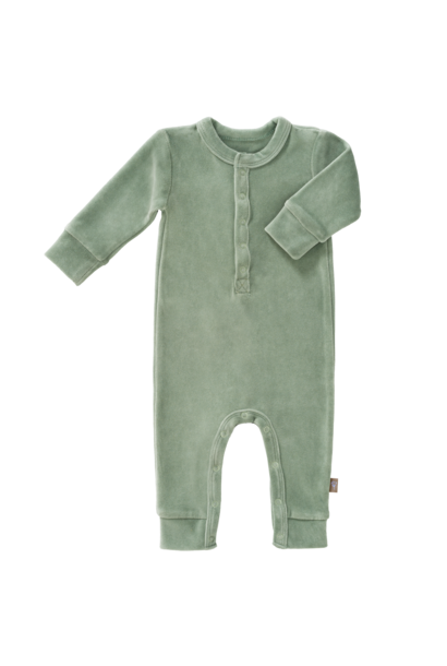 Pyjama velours forest green