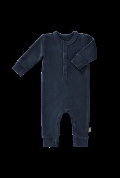 Pyjama velours indigo