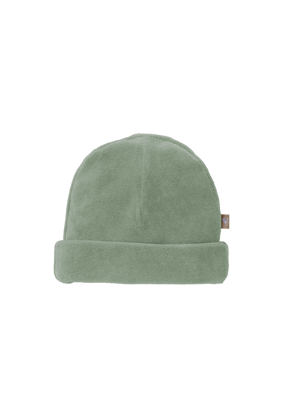 Hat velours forest green