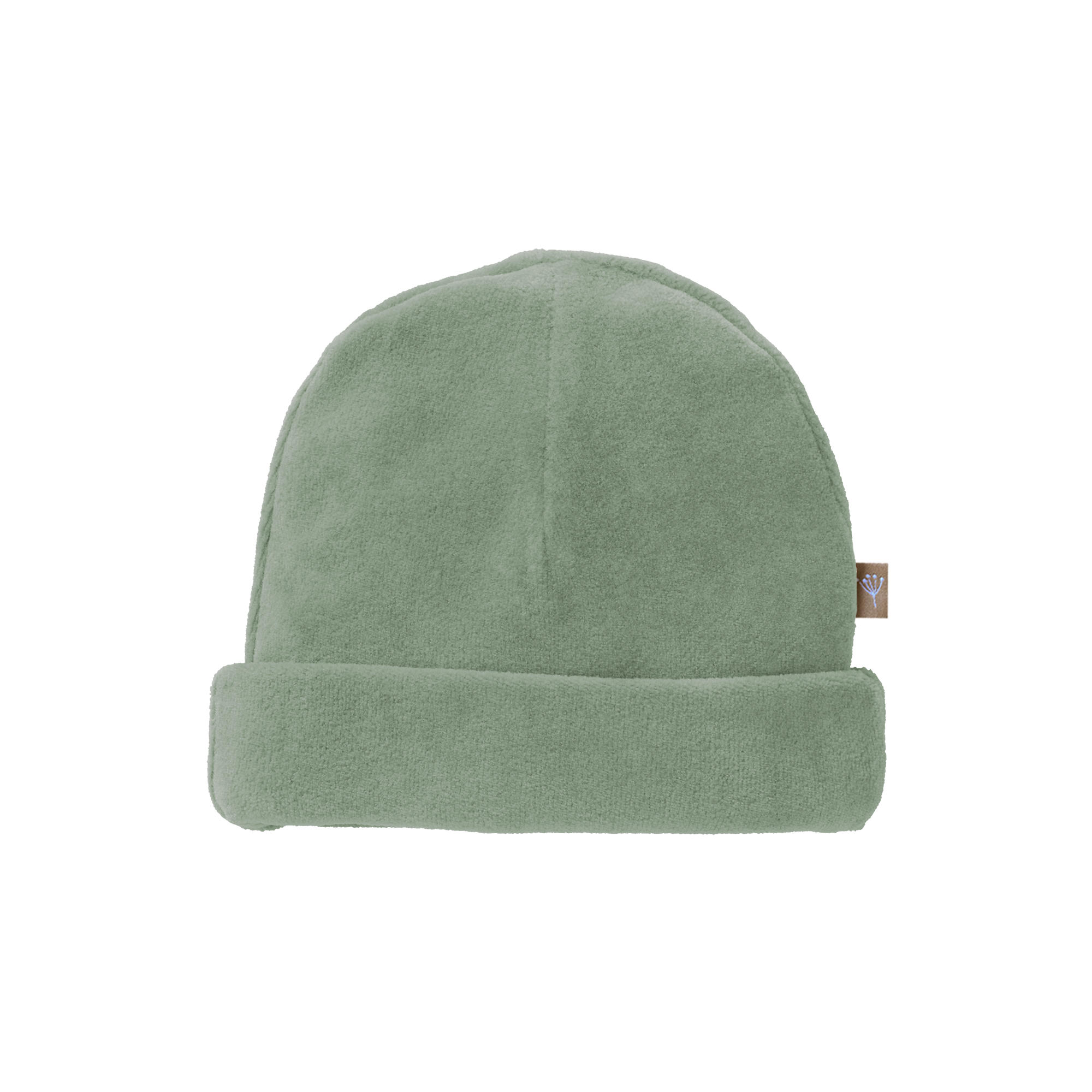 Hat velours forest green-1