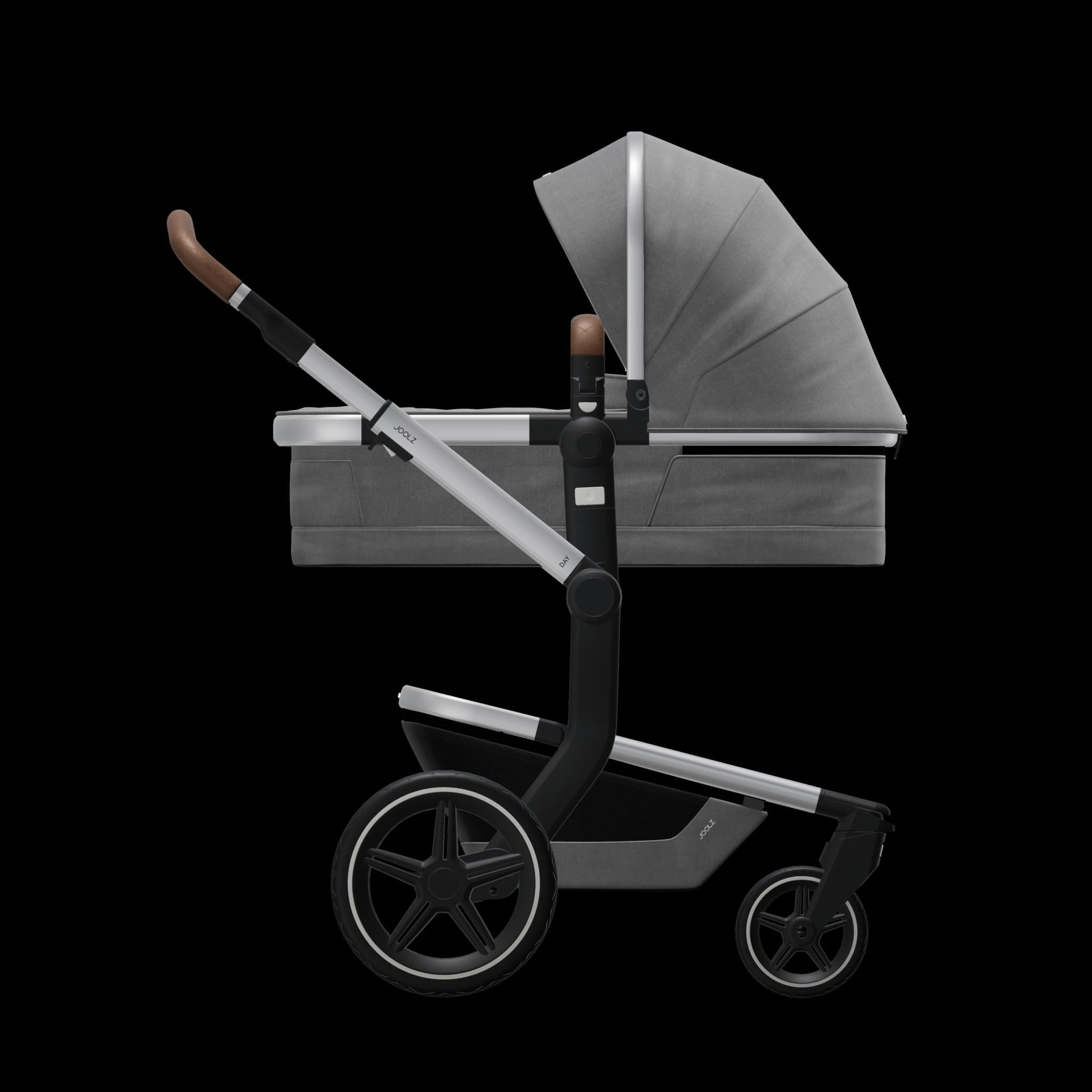 Joolz Day+ kinderwagen radiant grey-1