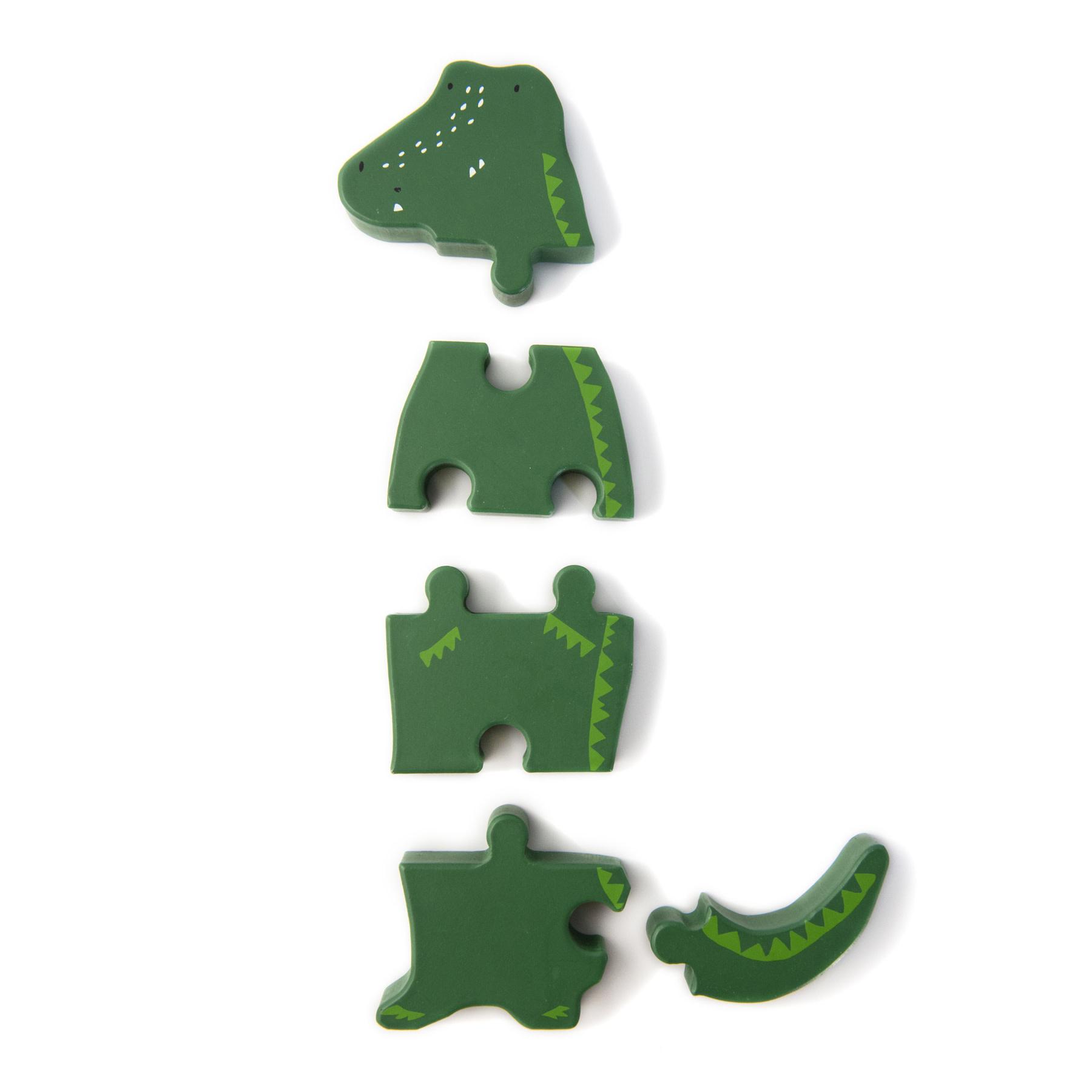 Dierenvormpuzzel mr. crocodile-2