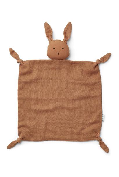 Agnete cuddle cloth rabbit sienna