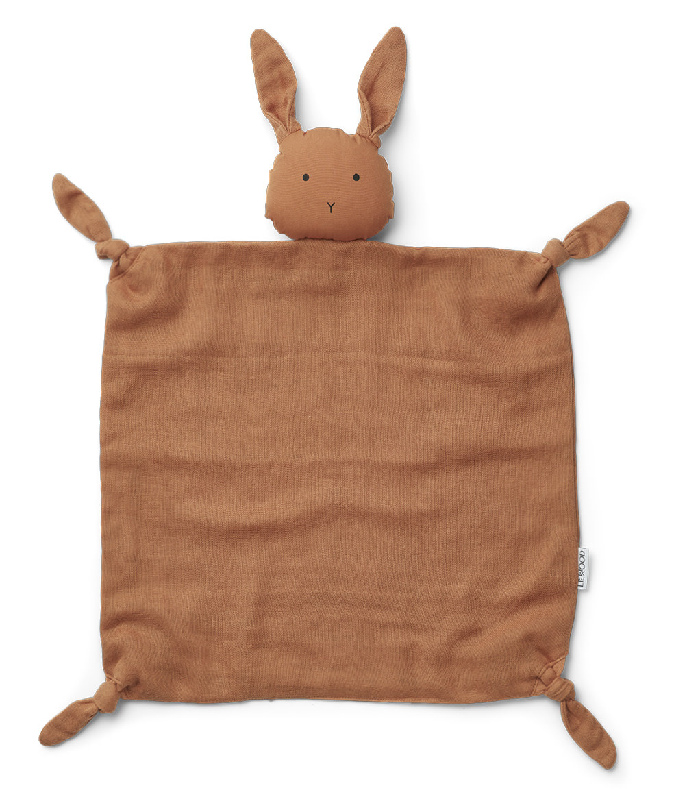 Agnete cuddle cloth rabbit sienna-1