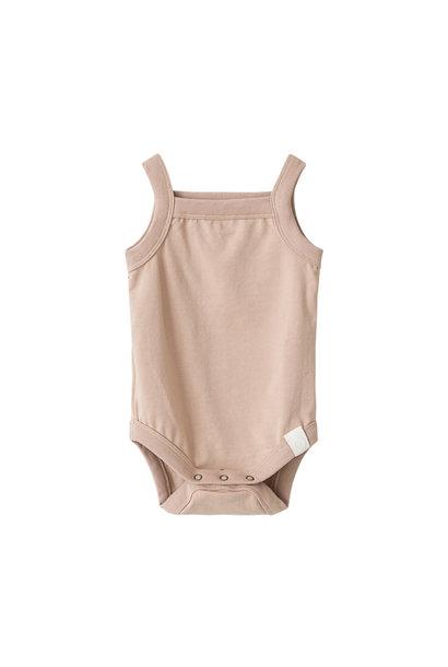 Rob singlet body organic pink-sand