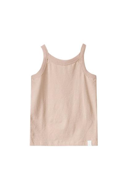 Rob singlet organic pink-sand