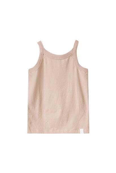Rob singlet organic pink-sand baby