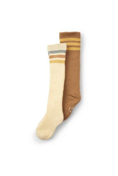 Long socks breen lemon - 2 pack