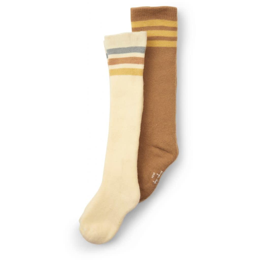 Long socks breen lemon - 2 pack-1