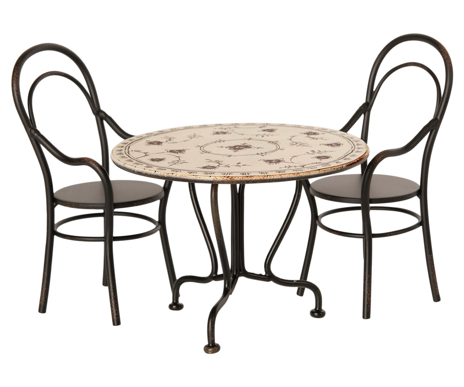 Dining table set with 2 chairs-1