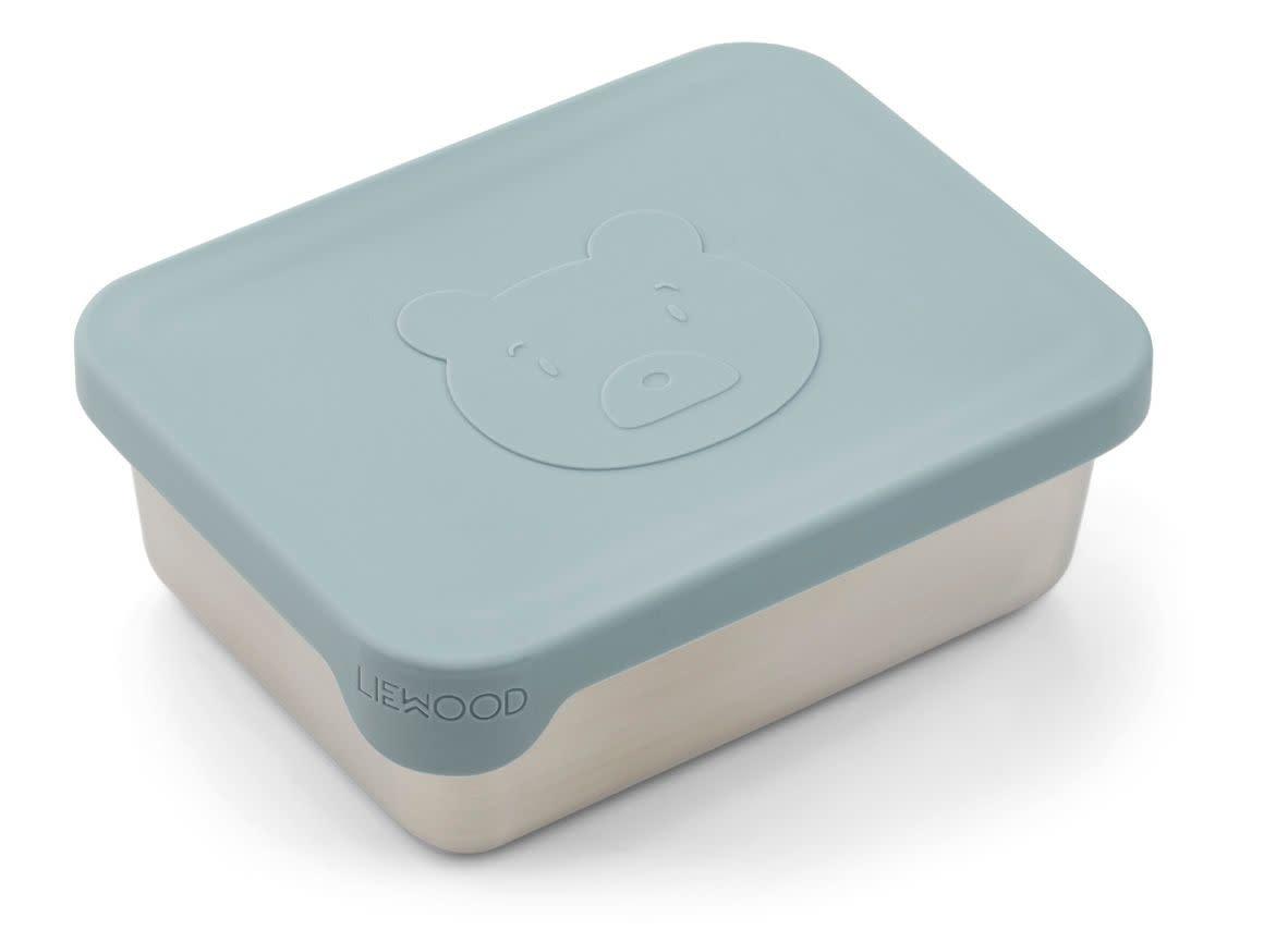 Ako snack box mr bear sea blue-1