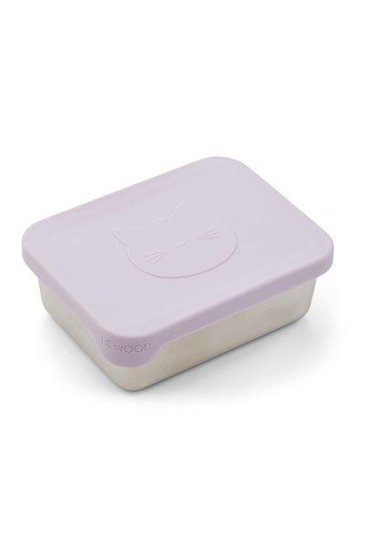 Ako snack box cat light lavender