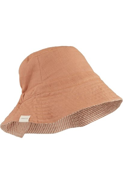 Buddy bucket hat tuscany rose