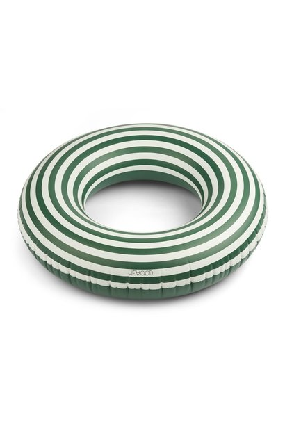 Donna swim ring stripes garden green/creme de la creme