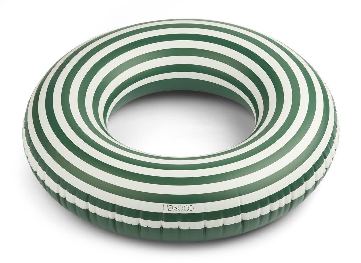 Donna swim ring stripes garden green/creme de la creme-1
