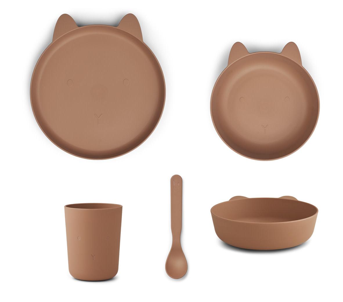 Paul tableware set rabbit tuscany rose-1