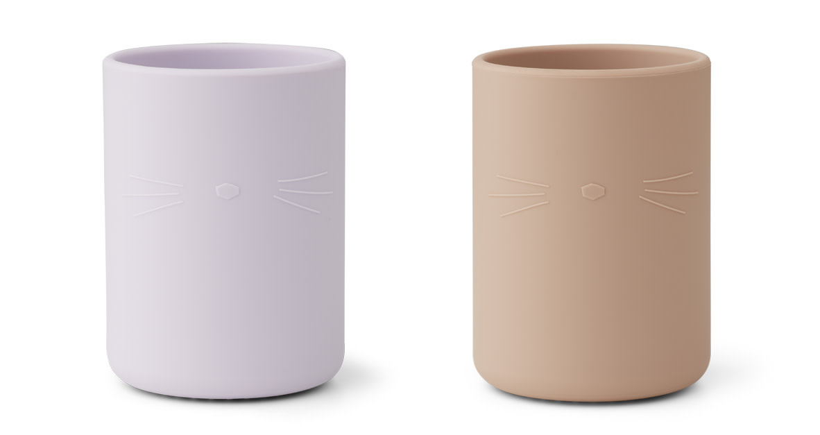 Ethan cup cat light lavender rose mix - 2 pack-1