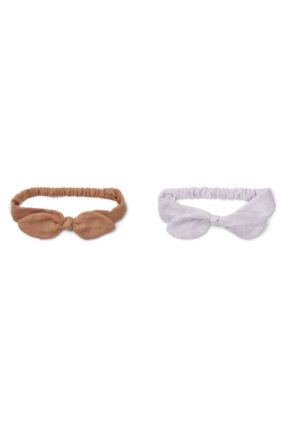 Henny headband tuscany rose mix - 2 pack