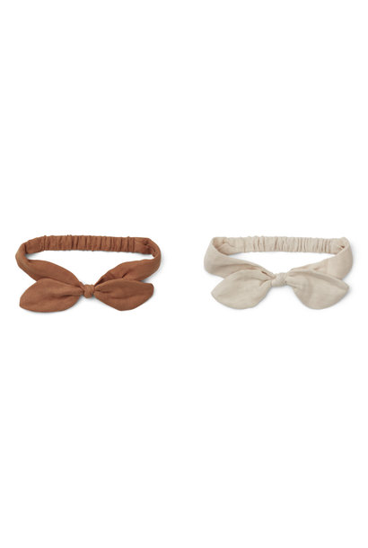 Henny headband sienna mix - 2 pack