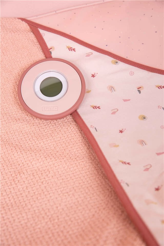 Digitale badthermometer blossom pink-2