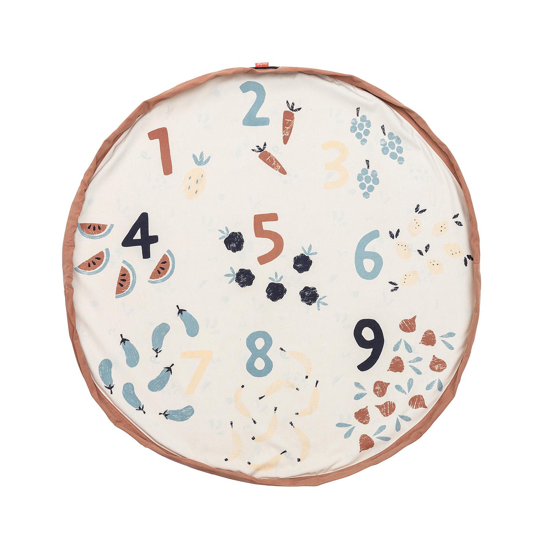 Play & Go opbergzak veggie numbers-2