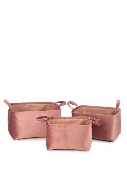 Billie mand roze set van 3