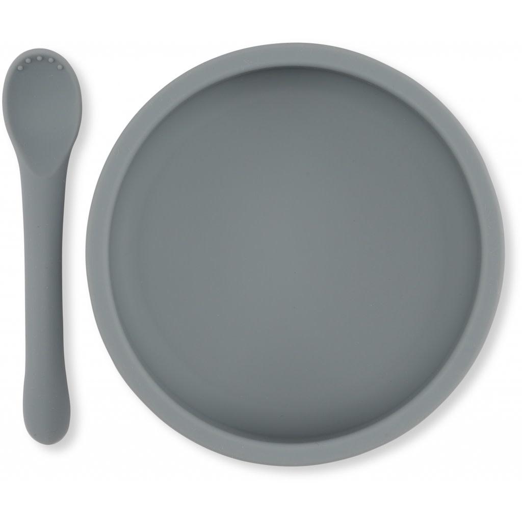 Bowl & spoon silicone set topanga-1