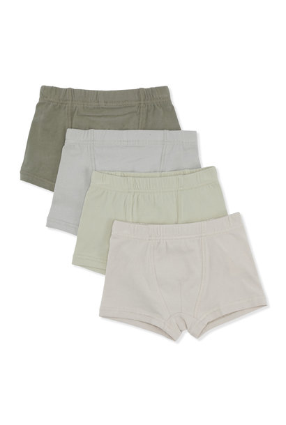 Boxer shades of green - 4 pack