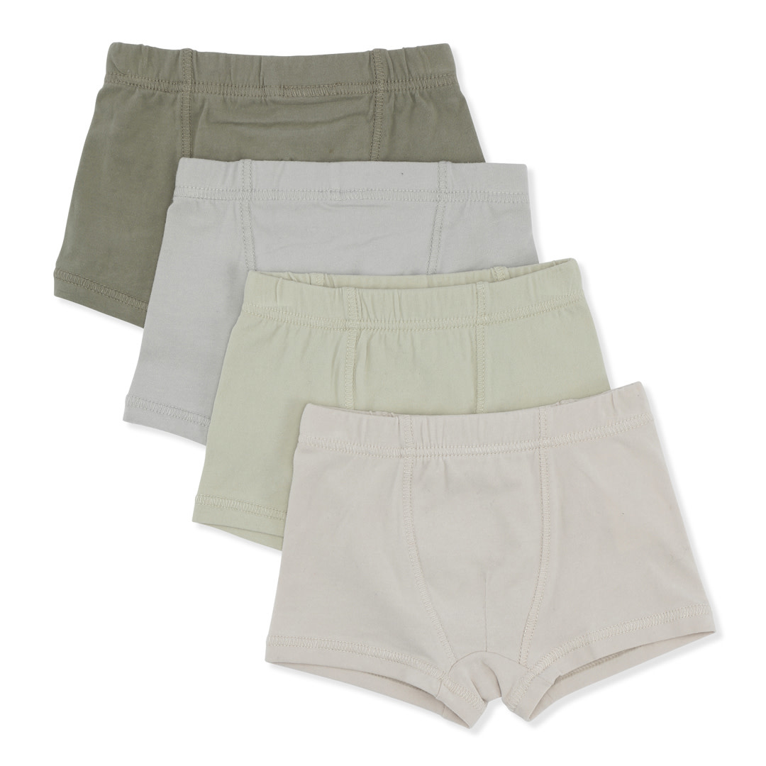 Boxer shades of green - 4 pack-1