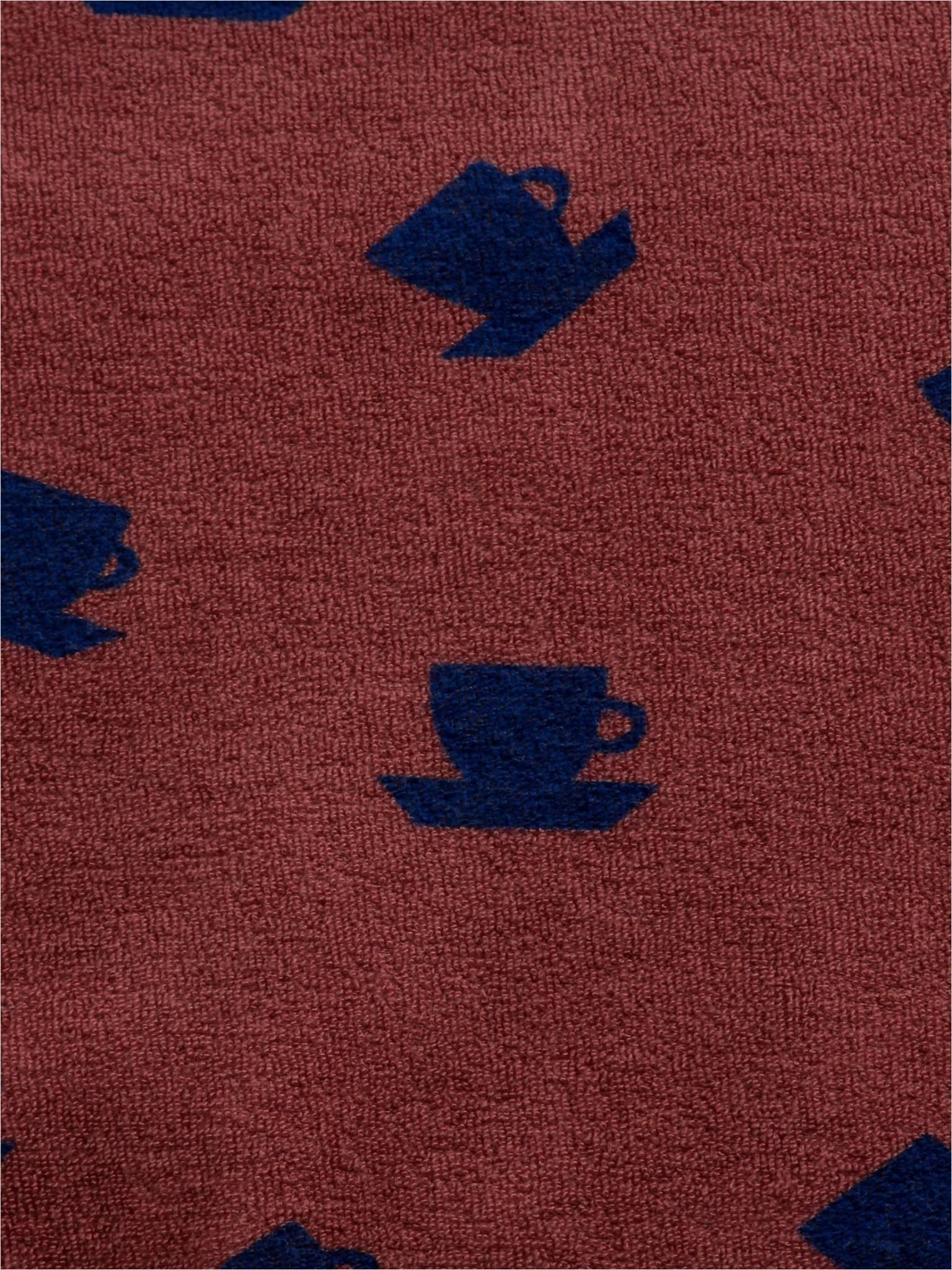 Cup of tea all over terry sweatshirt-2