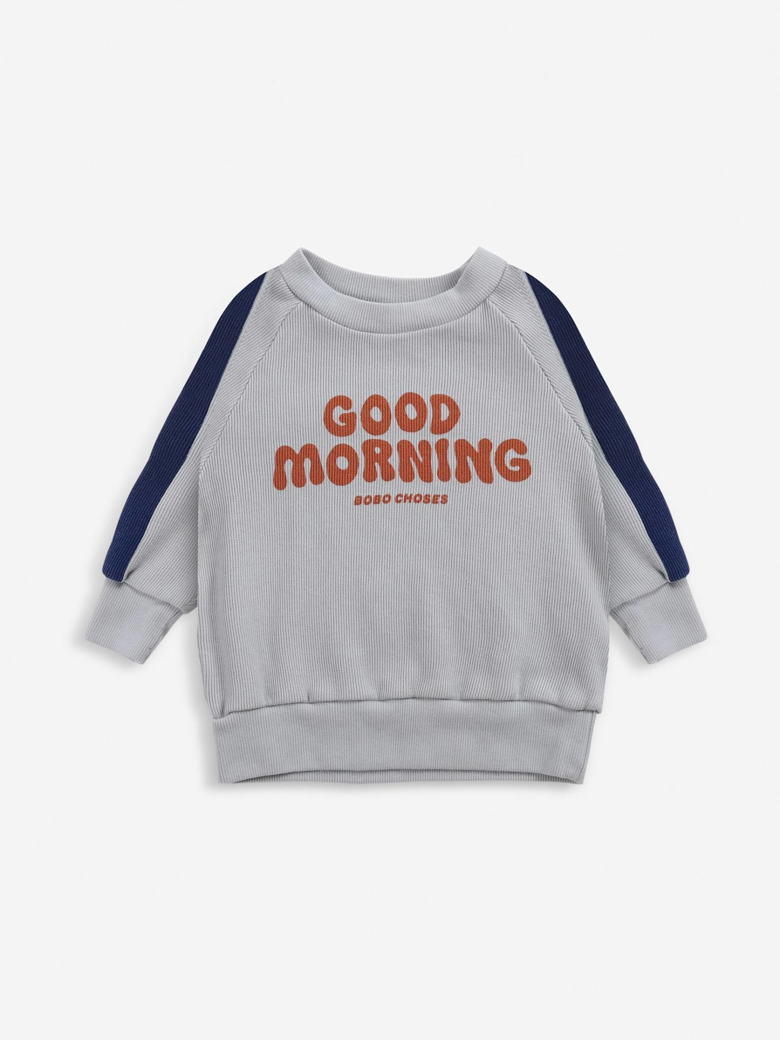 Good morning sweatshirt-1