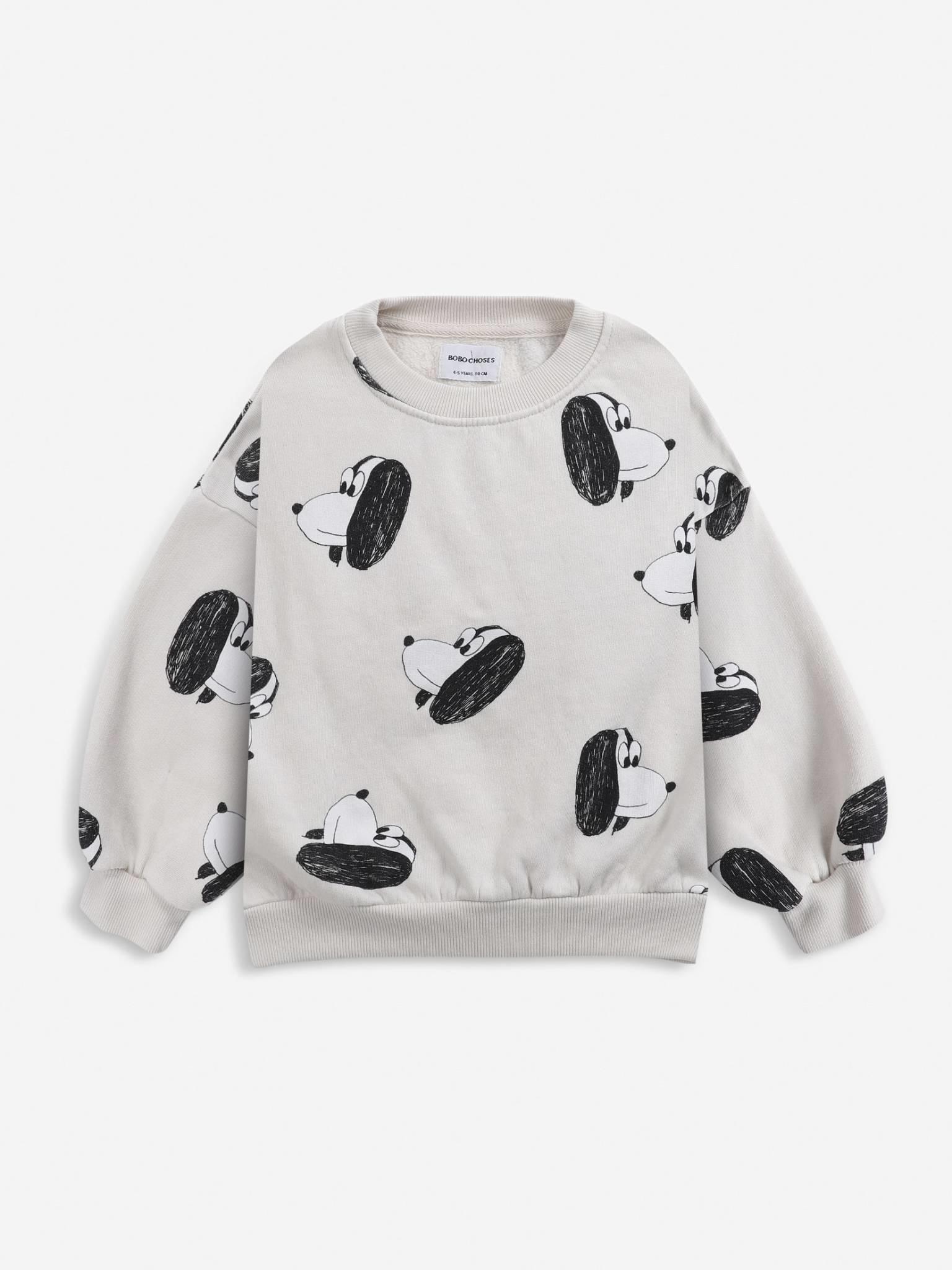 Doggie all over sweatshirt-1