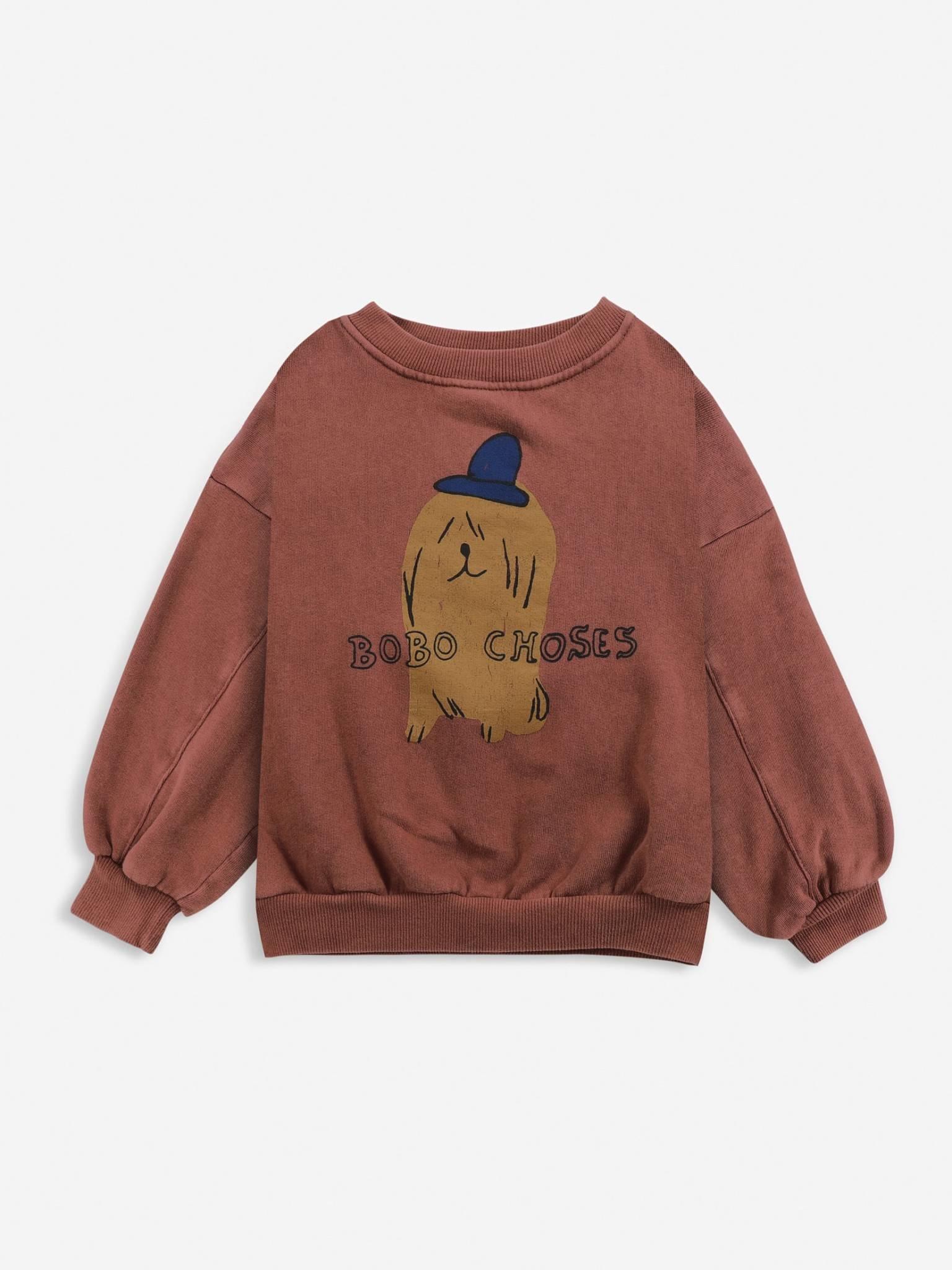 Dog in the hat sweatshirt-1