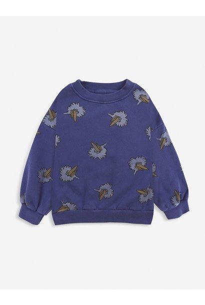 Birdie all over sweatshirt