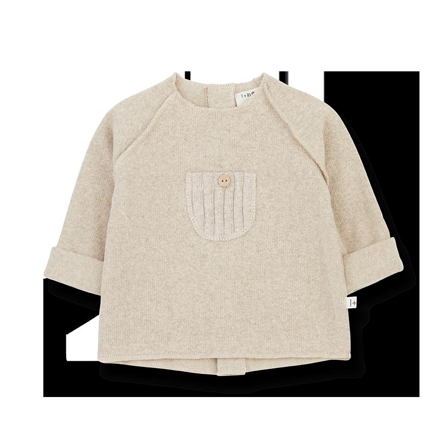 Pierre sweater cream-1