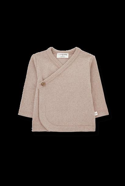 Fiona newborn shirt rose