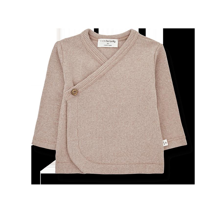 Fiona newborn shirt rose-1